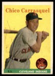 1958 Topps #55  Chico Carrasquel  Front Thumbnail
