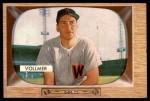 1955 Bowman #13  Clyde Vollmer  Front Thumbnail