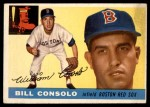 1955 Topps #207  Billy Consolo  Front Thumbnail