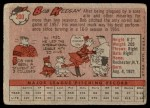 1958 Topps #200  Bob Keegan  Back Thumbnail