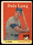 1958 Topps #7  Dale Long  Front Thumbnail