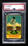 1933 DeLong Gum R333 #7  Lou Gehrig  Front Thumbnail