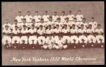 1947 Exhibits   1951 Yankees Team Front Thumbnail