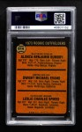 1973 Topps #614   -  Dwight Evans / Al Bumbry / Charlie Spikes Rookie Outfielders Back Thumbnail