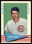1961 Fleer #50  Ralph Kiner  Front Thumbnail