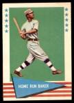 1961 Fleer #6  Home Run Baker  Front Thumbnail
