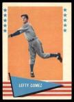 1961 Fleer #34  Lefty Gomez  Front Thumbnail
