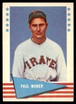 1961 Fleer #85  Paul Waner  Front Thumbnail