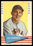 1961 Fleer #20  Paul Derringer  Front Thumbnail