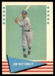 1961 Fleer #9  Jim Bottomley  Front Thumbnail