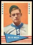 1961 Fleer #83  Ed Walsh  Front Thumbnail