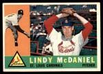 1960 Topps #195  Lindy McDaniel  Front Thumbnail