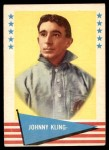 1961 Fleer #52  Johnny Kling  Front Thumbnail
