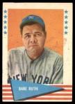 1961 Fleer #75  Babe Ruth  Front Thumbnail