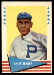 1961 Fleer #8  Chief Bender  Front Thumbnail