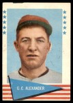 1961 Fleer #2  Grover Alexander  Front Thumbnail
