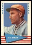 1961 Fleer #7  Dave Bancroft  Front Thumbnail