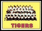 1967 Topps #378   Tigers Team Front Thumbnail