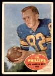 1960 Topps #66  Jim Phillips  Front Thumbnail
