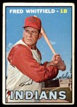 1967 Topps #275  Fred Whitfield  Front Thumbnail