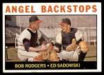 1964 Topps #61   -  Bob Rodgers / Ed Sadowski Angels Backstops Front Thumbnail