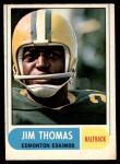 1968 O-Pee-Chee #105   -  Jim Thomas   Front Thumbnail