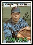 1967 Topps #15  Earl Battey  Front Thumbnail
