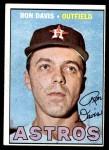 1967 Topps #298 xDOT Ron Davis  Front Thumbnail