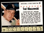 1961 Post Cereal #31  Ted Kluszewski   Front Thumbnail