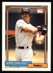 1992 Topps #185  Benito Santiago  Front Thumbnail