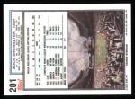 1992 Topps #201  Buck Showalter   Back Thumbnail