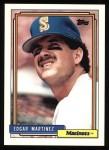 1992 Topps #553  Edgar Martinez  Front Thumbnail
