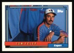 1992 Topps #666  Tom Foley  Front Thumbnail