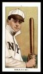 1909 T206 Reprint #132 BAT Mike Donlin  Front Thumbnail