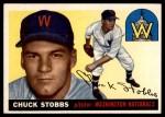 1955 Topps #41  Chuck Stobbs  Front Thumbnail