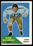1960 Fleer #6  Sam Salerno  Front Thumbnail