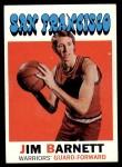 1971 Topps #104  Jim Barnett  Front Thumbnail