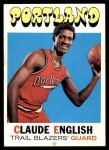 1971 Topps #46  Claude English   Front Thumbnail