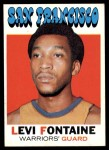 1971 Topps #92  Levi Fontaine   Front Thumbnail