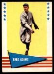 1961 Fleer #90  Babe Adams  Front Thumbnail