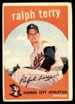 1959 Topps #358  Ralph Terry  Front Thumbnail