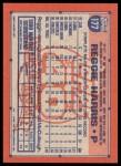 1991 Topps Desert Shield #177  Reggie Harris  Back Thumbnail