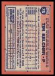 1991 Topps Desert Shield #25  Tim Belcher  Back Thumbnail
