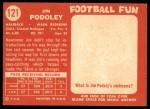 1958 Topps #121  Jim Podoley  Back Thumbnail