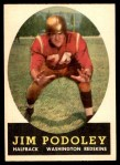 1958 Topps #121  Jim Podoley  Front Thumbnail