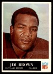 1965 Philadelphia #31  Jim Brown   Front Thumbnail
