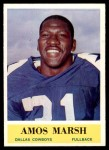 1964 Philadelphia #49  Amos Marsh  Front Thumbnail