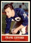 1964 Philadelphia #117  Frank Gifford   Front Thumbnail