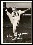 1961 Topps CFL #31  Vic Chapman  Front Thumbnail