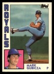 1984 Topps Traded #45  Mark Gubicza  Front Thumbnail